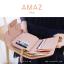 กระเป๋าสตางค์ผู้หญิง ขนาดกลาง รุ่น AMAZ สีม่วง thumbnail 35