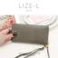 กระเป๋าสตางค์ผู้หญิง LIZE-L สีชมพู thumbnail 12