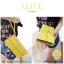 กระเป๋าสตางค์ผู้หญิง ทรงถุง กระเป๋าคลัทช์ สีชมพู รุ่น ALICE thumbnail 21