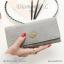 กระเป๋าสตางค์ผู้หญิง ใบยาว รุ่น DIAMONDS-L สีน้ำเงิน thumbnail 7