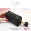 กระเป๋าสตางค์ ใส่เหรียญ รุ่น CUBE สีม่วง thumbnail 14