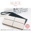 กระเป๋าสตางค์ผู้หญิง ทรงถุง กระเป๋าคลัทช์ สีชมพู รุ่น ALICE thumbnail 12