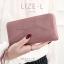 กระเป๋าสตางค์ผู้หญิง LIZE-L สีชมพู thumbnail 21