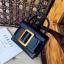 กระเป๋าหนังพรีเมี่ยม PU ทรง boyy bags (Black) thumbnail 1