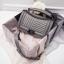 กระเป๋าหนังแกะ ทรง Chanel boy lady (Gray) thumbnail 2