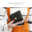 กระเป๋าสตางค์ผู้หญิง ใบสั้น รุ่น DIAMONDS-S สีดำ thumbnail 2