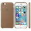 iPhone 6,6S Leather Case - Olive Brown , เคสหนัง iPhone 6,6s - สีน้ำตาล thumbnail 3