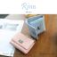 กระเป๋าสตางค์ผู้หญิง ใบสั้น รุ่น RINN สีชมพู thumbnail 2