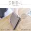 กระเป๋าสตางค์ผู้หญิง รุ่น GRID-L สีชมพูเข้ม ใบยาว สองซิป thumbnail 17