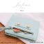 กระเป๋าสตางค์ผู้หญิง JULIUS Slim สีเขียวมิ้นท์ thumbnail 2