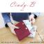กระเป๋าสตางค์ผู้หญิง ทรงถุง สีแดง รุ่น CINDY-B thumbnail 3