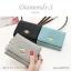 กระเป๋าสตางค์ผู้หญิง ใบสั้น รุ่น DIAMONDS-S สีดำ thumbnail 8