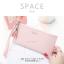 กระเป๋าสตางค์ผู้หญิง ทรงถุง รุ่น SPACE สีฟ้า thumbnail 7
