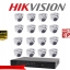HIKVISION Camera set 8 DS-2CE56D0T-IR x 16 DS-7216HQHI-F2/N x 1 thumbnail 1