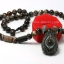 สร้อย Black agate ดวงตามังกร thumbnail 1