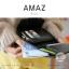 กระเป๋าสตางค์ผู้หญิง ขนาดกลาง รุ่น AMAZ สีม่วง thumbnail 10