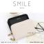 กระเป๋าใส่บัตร เอนกประสงค์ รุ่น SMILE สีเทา thumbnail 20