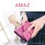 กระเป๋าสตางค์ผู้หญิง ขนาดกลาง รุ่น AMAZ สีม่วง thumbnail 3