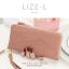 กระเป๋าสตางค์ผู้หญิง LIZE-L สีชมพู thumbnail 5