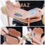 กระเป๋าสตางค์ผู้หญิง ขนาดกลาง รุ่น AMAZ สีม่วง thumbnail 36