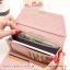 กระเป๋าสตางค์ผู้หญิง รุ่น LETTER สีชมพู thumbnail 7