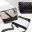 กระเป๋าหนังแกะ gabrielle bag size 28 (สีขาวทั้งใบ) SALE!! thumbnail 6