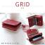 กระเป๋าสตางค์ผู้หญิง GRID สีเขียวเข้ม thumbnail 13