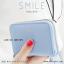 กระเป๋าใส่บัตร เอนกประสงค์ รุ่น SMILE สีเทา thumbnail 6