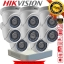 Hikvision (( Camera Set 8 )) HD720P (DS-2CE56C0T-IR x 8, DS-7108HGHI-F1 x 1) thumbnail 1