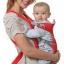 C10123 เป้อุ้มเด็ก 4 in 1 (A) แถมฟรี สายจูงหัดเด็กเดิน ปรับท่าอุ้มได้ 4 ท่า สีส้ม thumbnail 1