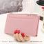 กระเป๋าสตางค์ผู้หญิง รุ่น CLASSIC สีชมพู thumbnail 1