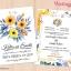การ์ดแต่งงาน การ์ดเชิญงานแต่งงาน ลายดอกไม้ thumbnail 1