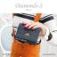 กระเป๋าสตางค์ผู้หญิง ใบสั้น รุ่น DIAMONDS-S สีดำ thumbnail 23