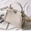 กระเป๋าหนังวัวแท้ Fendi Gray (21x17x12cm) thumbnail 10