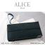 กระเป๋าสตางค์ผู้หญิง ทรงถุง กระเป๋าคลัทช์ สีชมพู รุ่น ALICE thumbnail 8