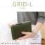 กระเป๋าสตางค์ผู้หญิง รุ่น GRID-L สีชมพูเข้ม ใบยาว สองซิป thumbnail 13