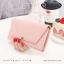 กระเป๋าสตางค์ผู้หญิง รุ่น LETTER สีชมพู thumbnail 10