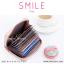 กระเป๋าใส่บัตร เอนกประสงค์ รุ่น SMILE สีเทา thumbnail 3