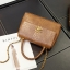 กระเป๋าหนัง PU รุ่น Coco Linchy (Brown) thumbnail 1