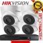 HIKVISION (( Camera set 4 )) DS-2CE56D0T-IT3 x 4 DS-7204HQHI-F1/N x 1 thumbnail 1