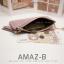 กระเป๋าสตางค์ผู้หญิง ทรงถุง รุ่น AMAZ-BL สีดำ thumbnail 9