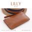 กระเป๋าสตางค์ผู้หญิง ทรงถุง กระเป๋าคลัทช์ สีม่วง รุ่น LILLY thumbnail 19