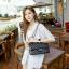 กระเป๋าหนังแกะแท้ ทรง chanel คลาสสิก ( ขนาด 30x20x11cm) thumbnail 2