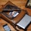 กระเป๋าหนังแท้ Teemzone Brown สำหรับคุณผู้ชาย thumbnail 4