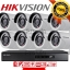 Hikvision (( Camera Set 8 )) HD720P (DS-2CE16C0T-IR x 8, DS-7208HGHI-F1 x 1) thumbnail 1