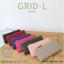 กระเป๋าสตางค์ผู้หญิง รุ่น GRID-L สีชมพูเข้ม ใบยาว สองซิป thumbnail 11