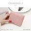 กระเป๋าสตางค์ผู้หญิง ใบสั้น รุ่น DIAMONDS-S สีดำ thumbnail 15