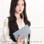 กระเป๋าสตางค์ผู้หญิง รุ่น LETTER สีชมพู thumbnail 18