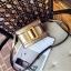 กระเป๋าหนังพรีเมี่ยม PU ทรง boyy bags (เมทาลิคแชมเปญ) thumbnail 1