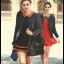 กระเป๋าหนังแกะ Miss cozy black thumbnail 9